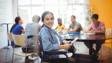 Foto de A inclusão de alunos com deficiência por meio da tecnologia